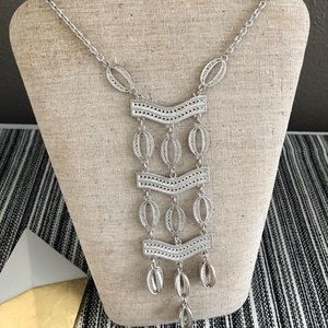 Kimberly Necklace in Silver by Stella and Dot
